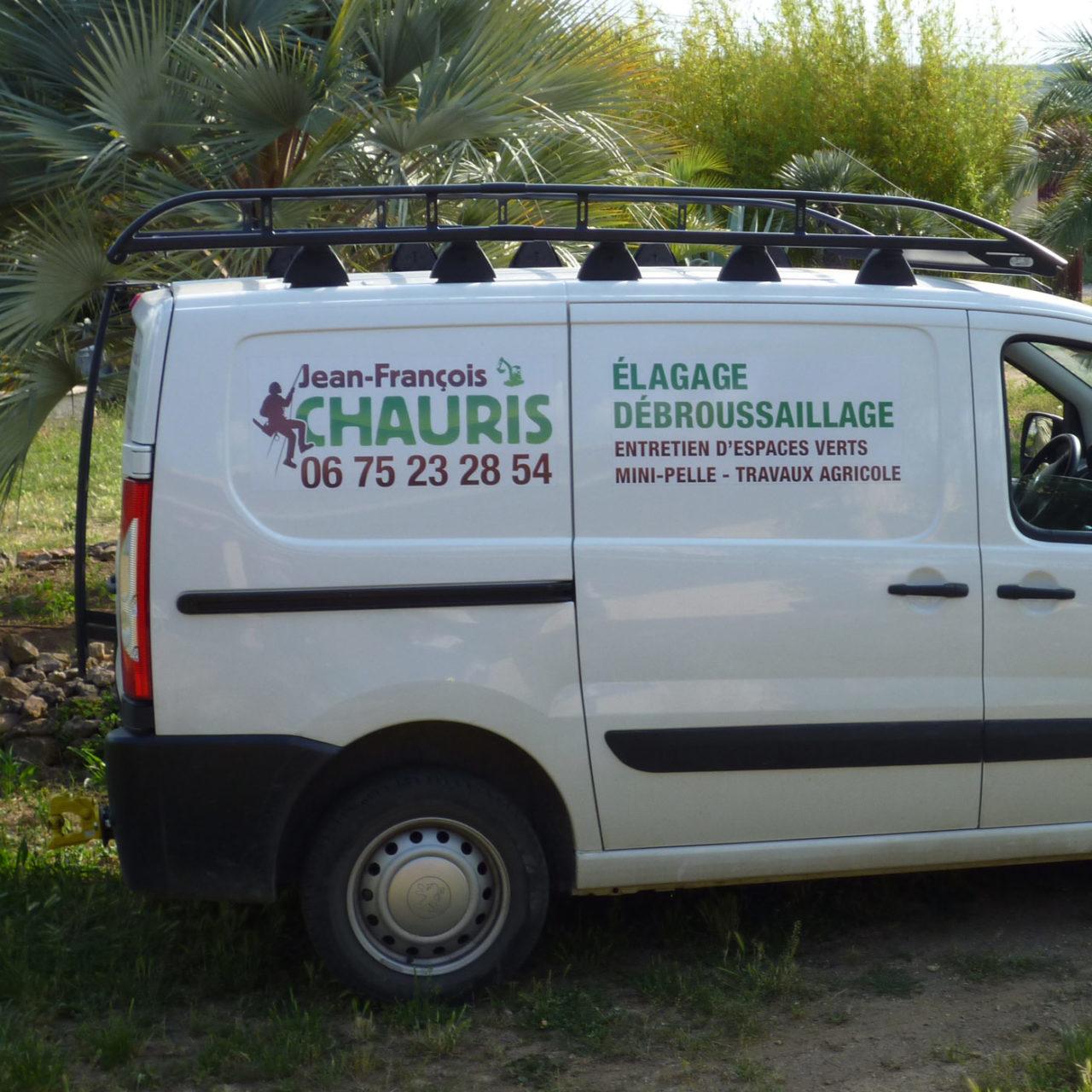 Habillage voiture JF Chauris