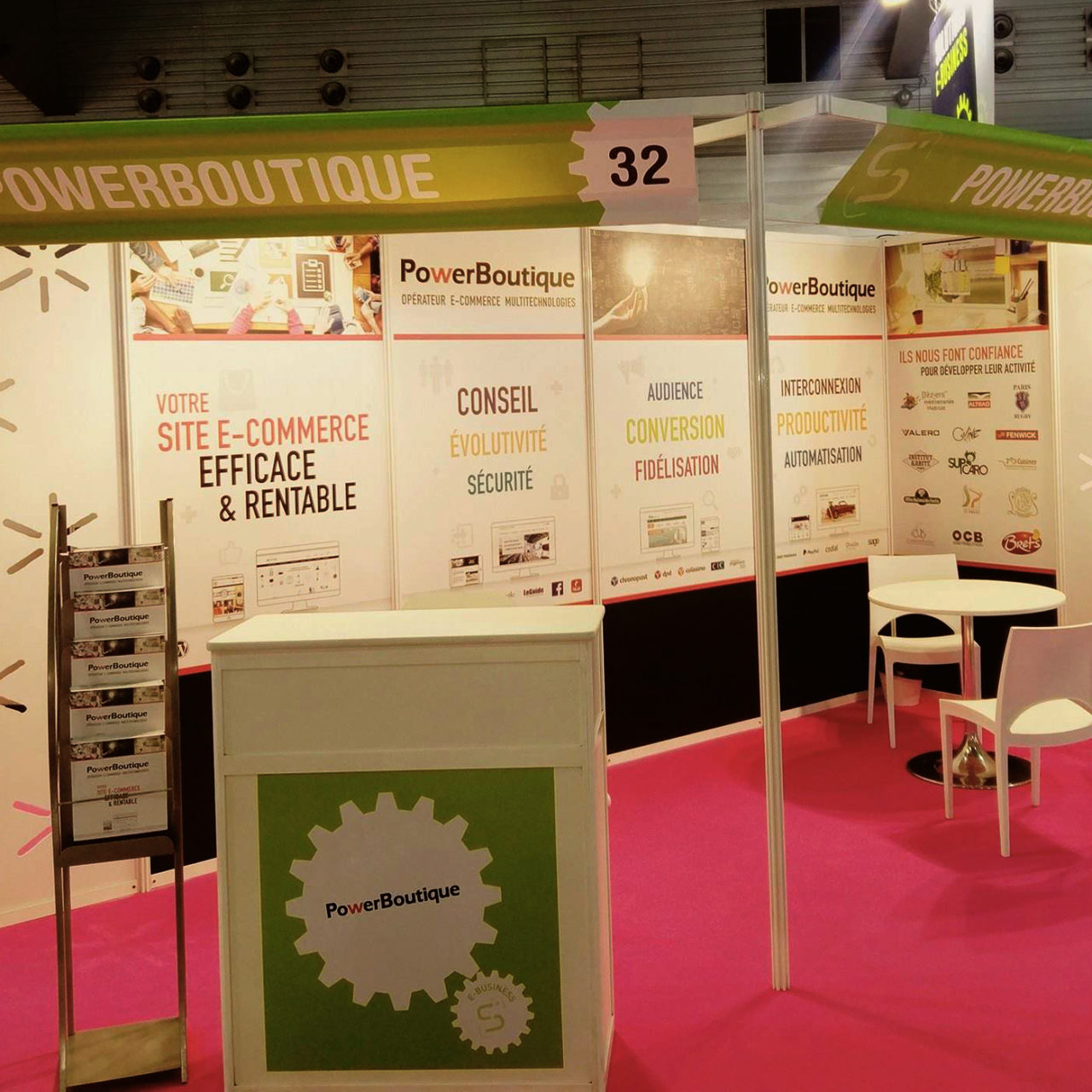 stand PowerBoutique connec sud 2017