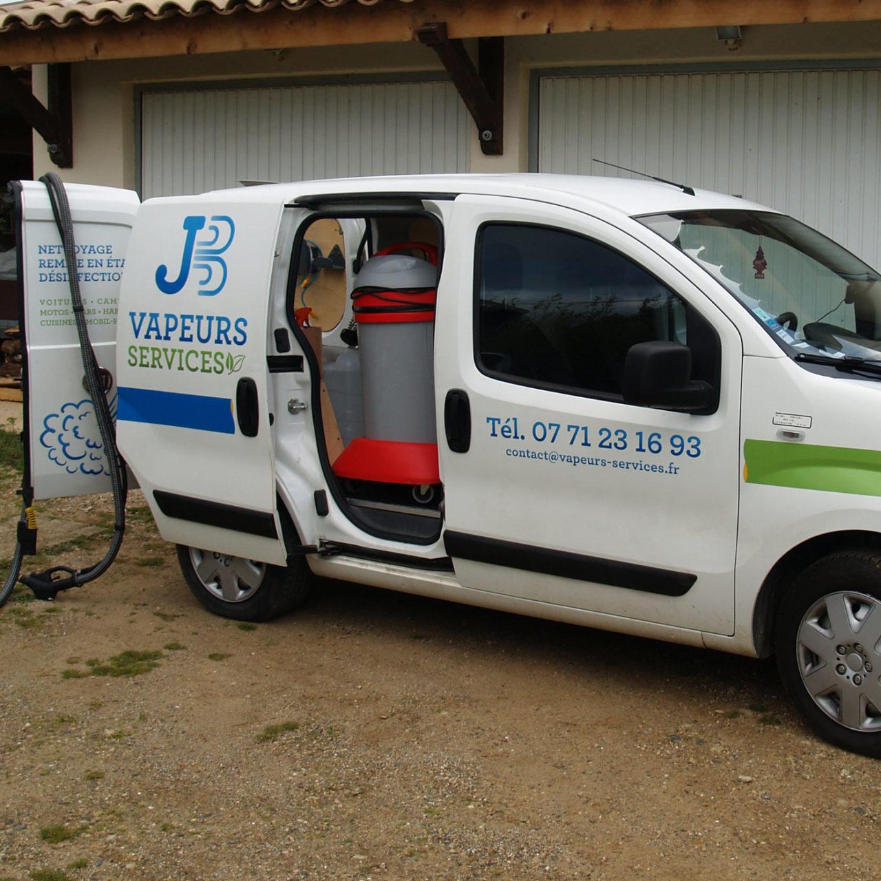 Habillage voiture Vapeur Services