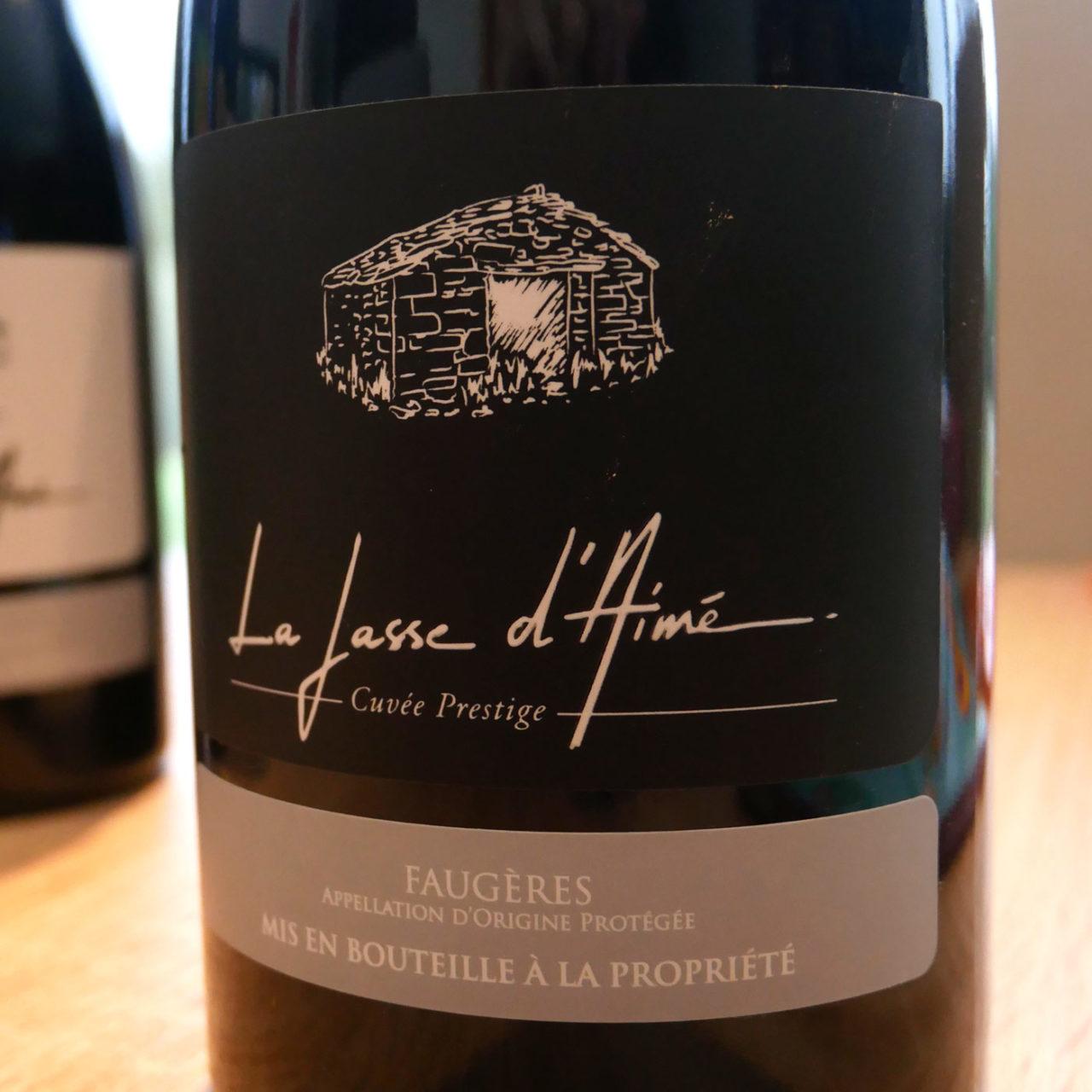 création graphique étiquette de vin Mas Olivier La Jasse d'Aimée