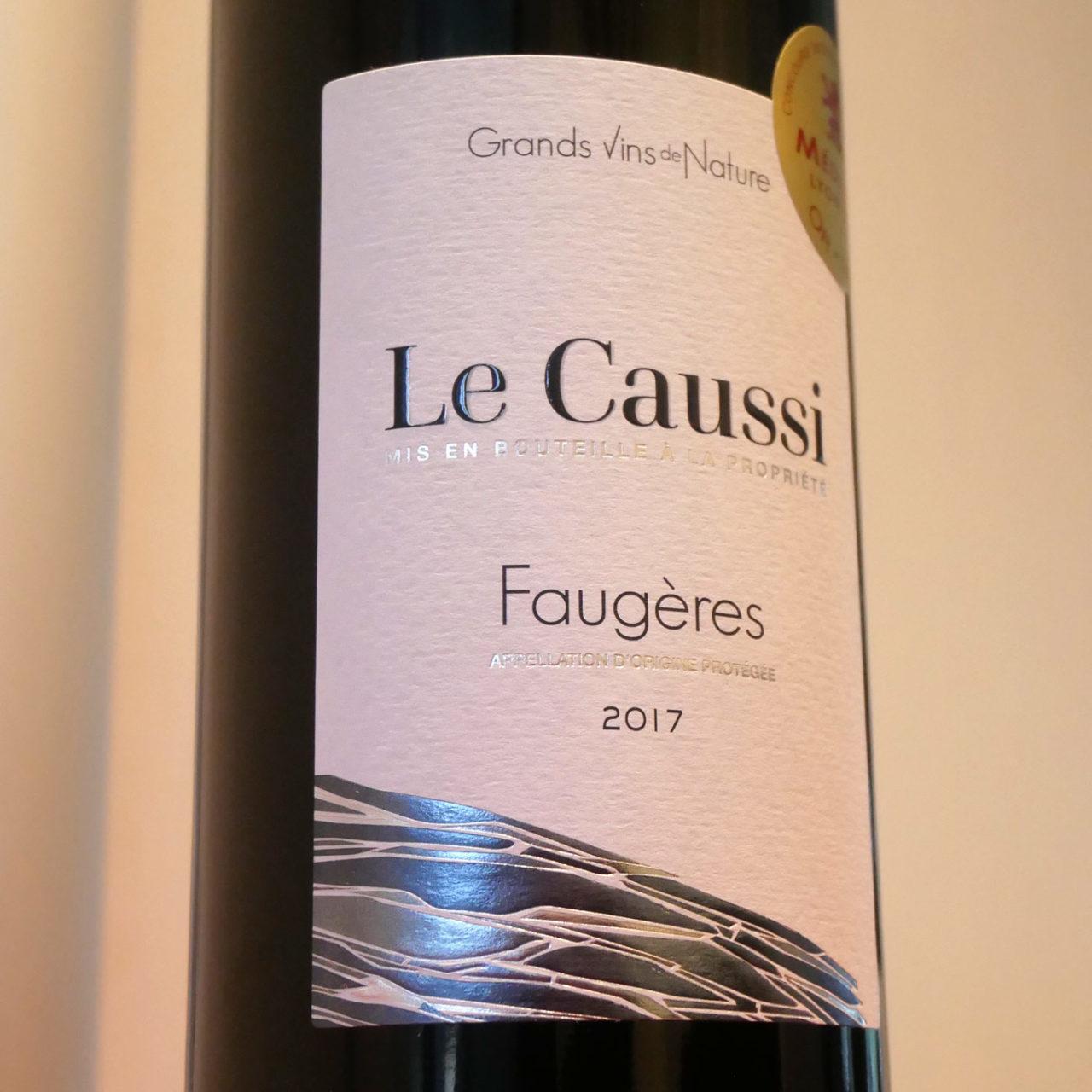 création graphique étiquette de vin Mas Olivier Le Caussi