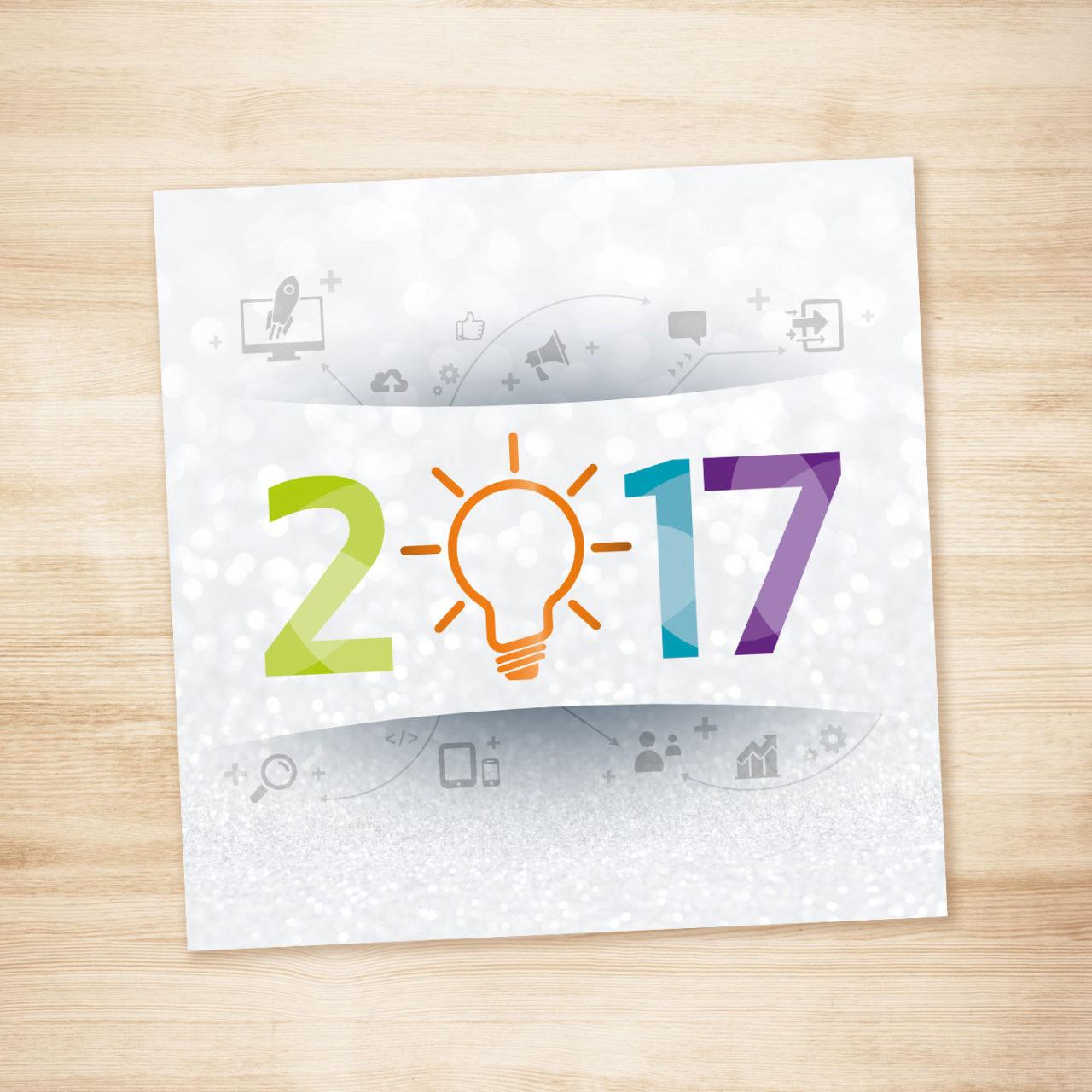 Carte de vœux doyousoft 2017